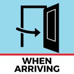 When Arriving